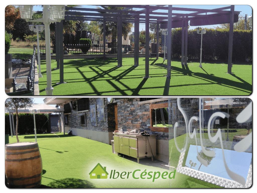 Césped artificial en terrazas con Ibercesped ®【 2018 】