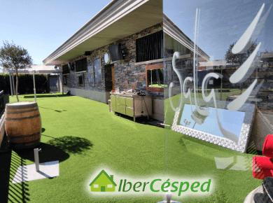 Instalacin de csped artificial en terrazas con Ibercesped 2018